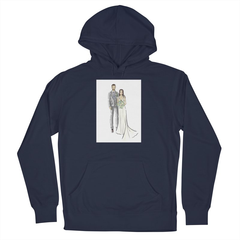 Custom Wedding Men's Pullover Hoody by Deanna Kei's Artist Shop