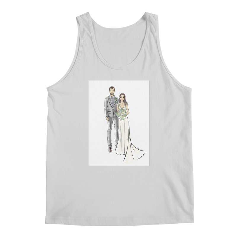 Custom Wedding Men's Regular Tank by Deanna Kei's Artist Shop