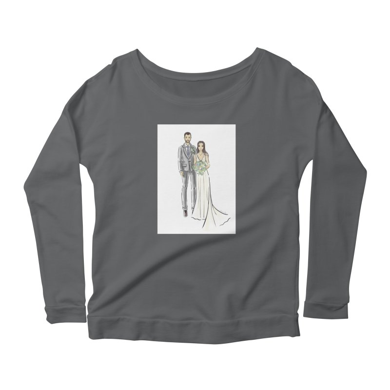 Custom Wedding Women's Longsleeve T-Shirt by Deanna Kei's Artist Shop