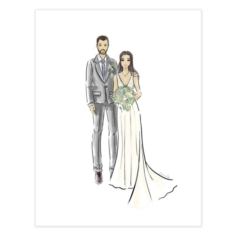 Custom Wedding Home Fine Art Print by Deanna Kei's Artist Shop