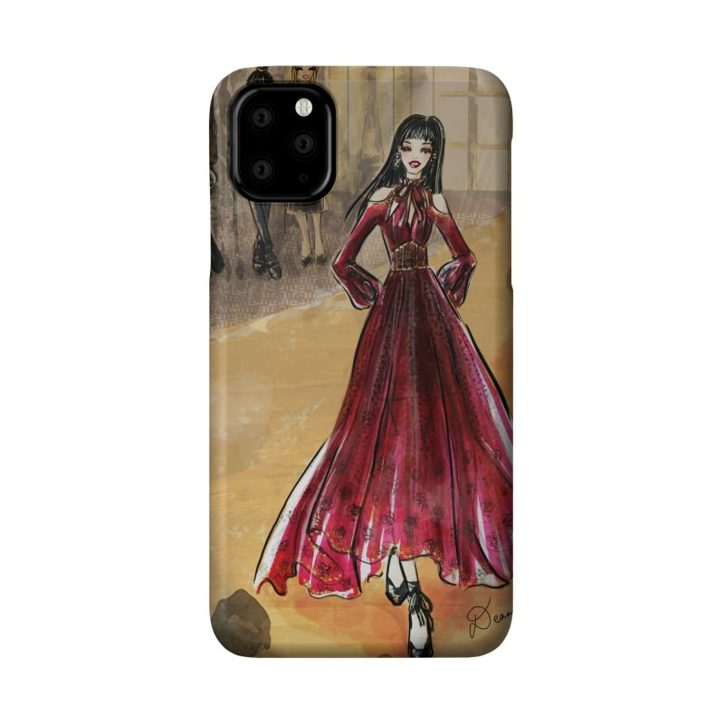 Fashion Week Runway Accessories Phone Case by Deanna Kei's Artist Shop