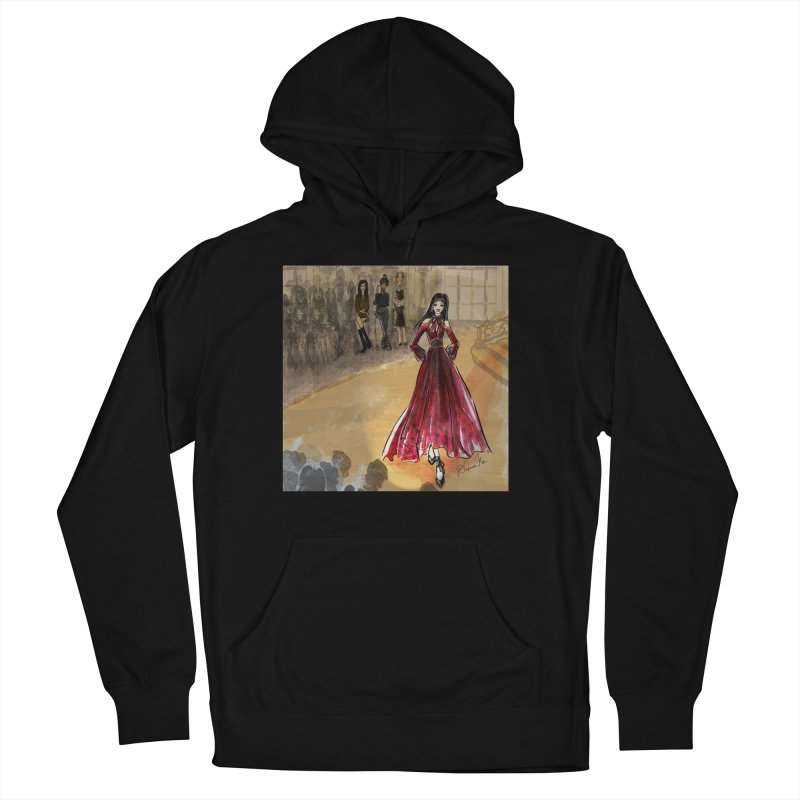 Fashion Week Runway Men's French Terry Pullover Hoody by Deanna Kei's Artist Shop