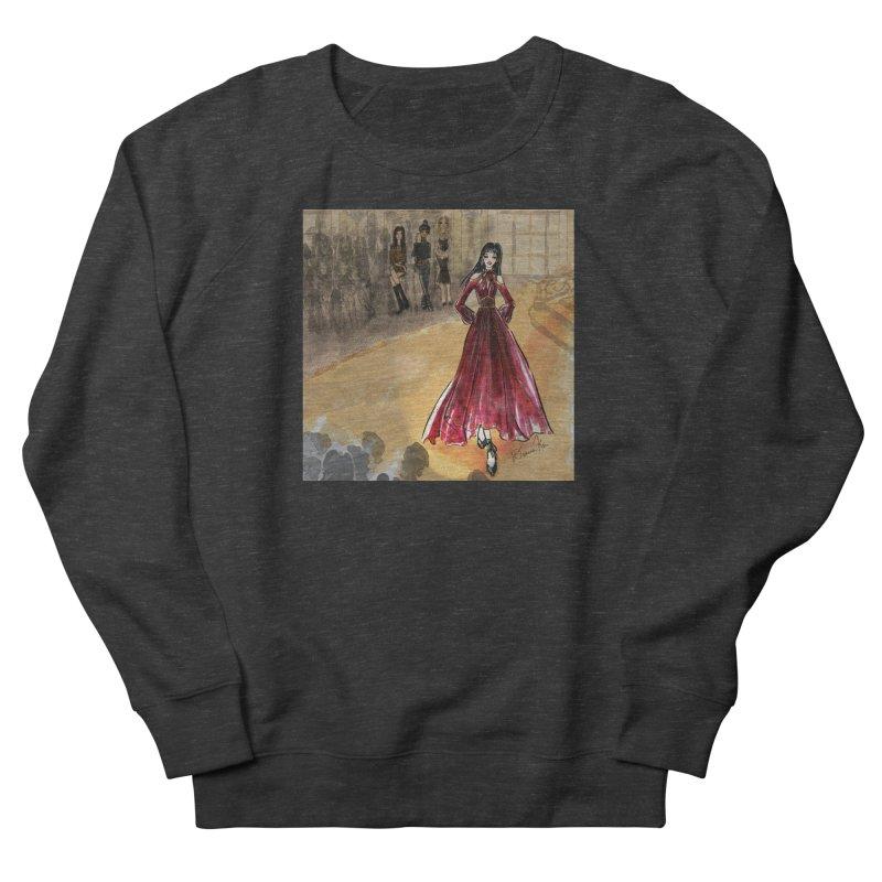 Fashion Week Runway Women's French Terry Sweatshirt by Deanna Kei's Artist Shop