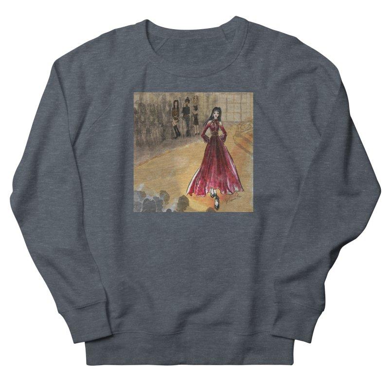 Fashion Week Runway Men's French Terry Sweatshirt by Deanna Kei's Artist Shop