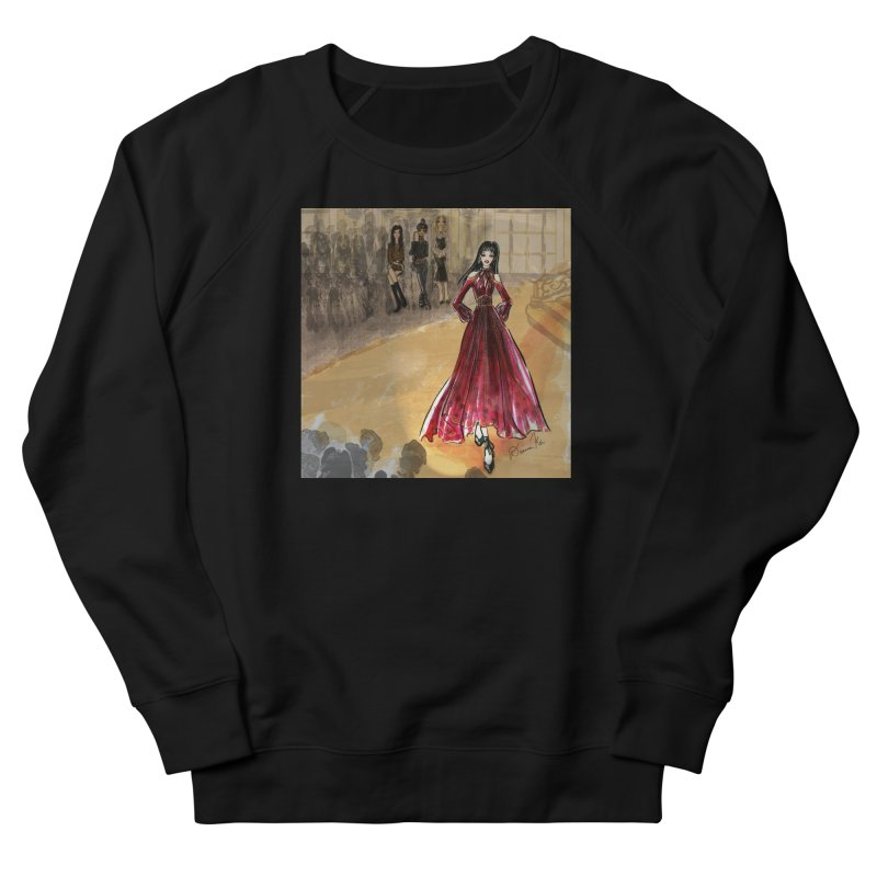 Fashion Week Runway Men's French Terry Sweatshirt by Deanna Kei's Artist Shop