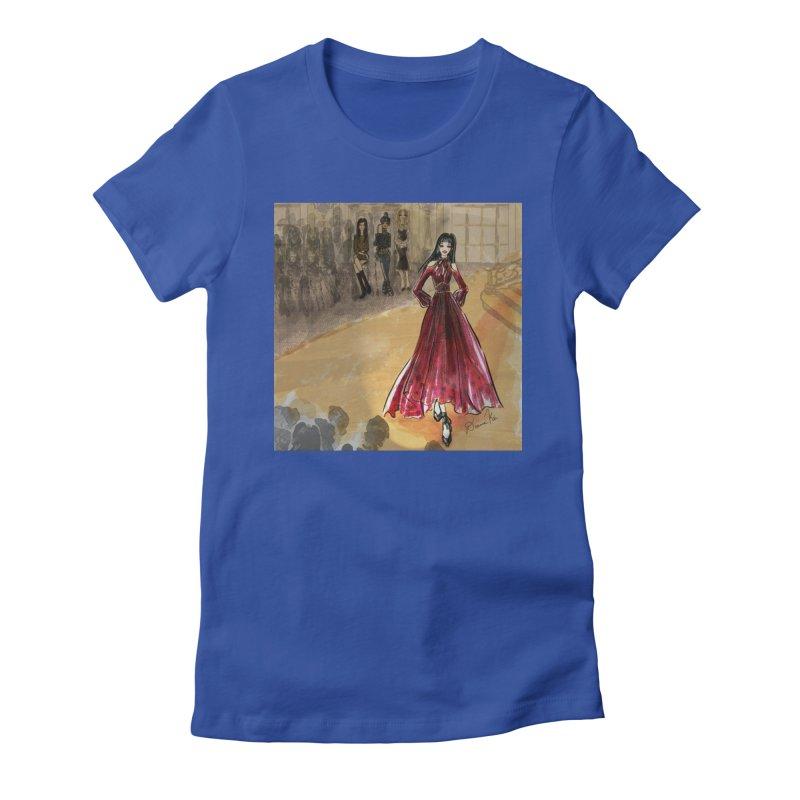 Fashion Week Runway Women's Fitted T-Shirt by Deanna Kei's Artist Shop