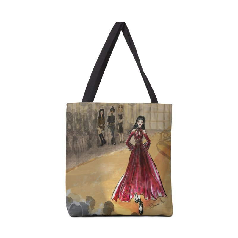 Fashion Week Runway Accessories Tote Bag Bag by Deanna Kei's Artist Shop