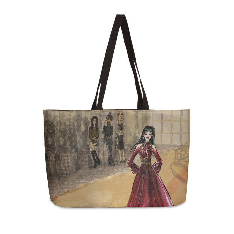 Fashion Week Runway Accessories Bag by Deanna Kei's Artist Shop