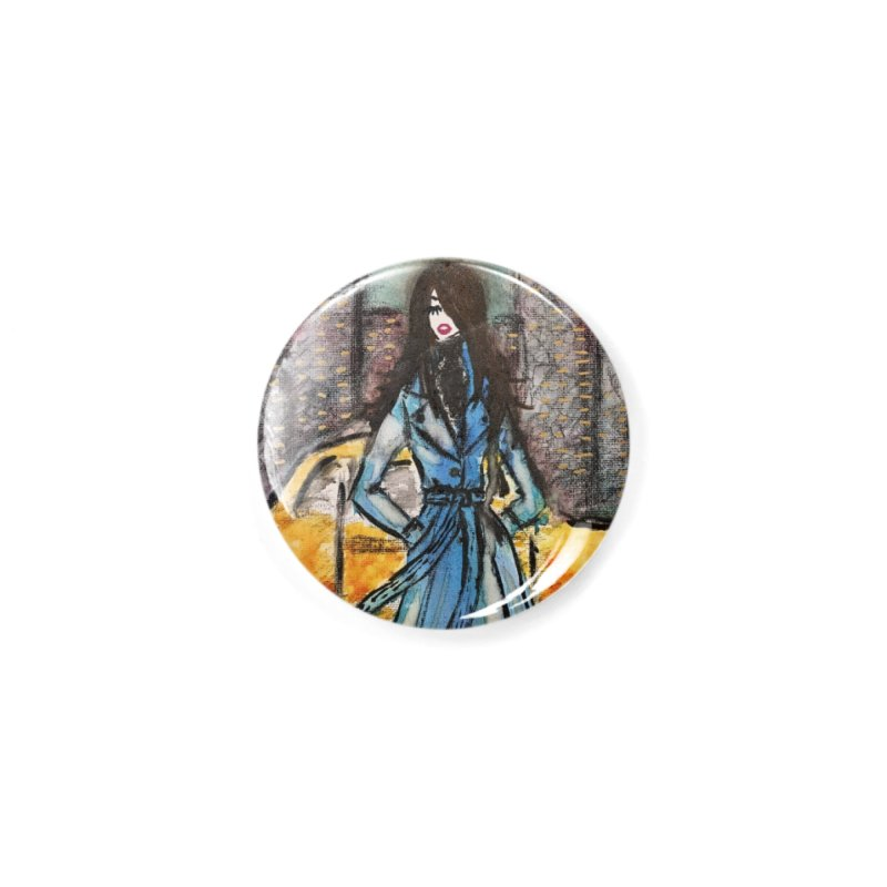 Big City Vibes Accessories Button by Deanna Kei's Artist Shop
