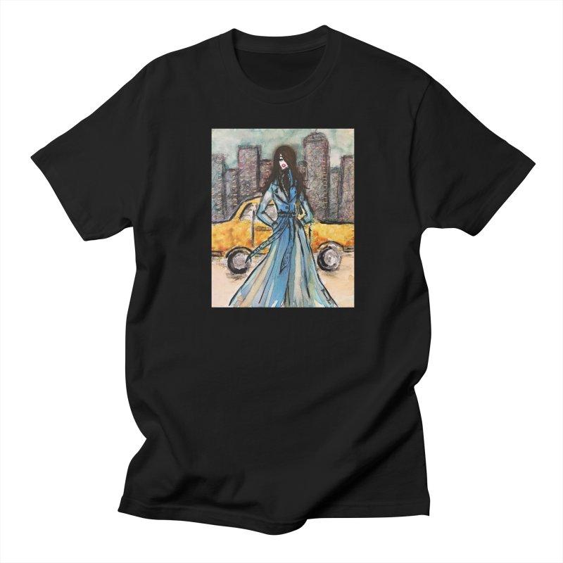 Big City Vibes Men's Regular T-Shirt by Deanna Kei's Artist Shop