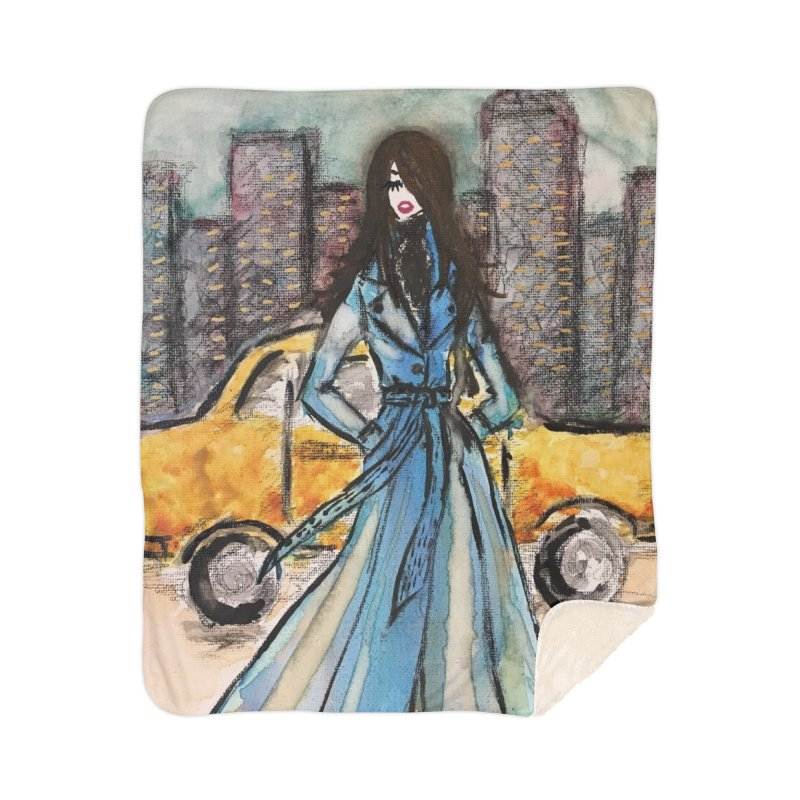 Big City Vibes Home Blanket by Deanna Kei's Artist Shop