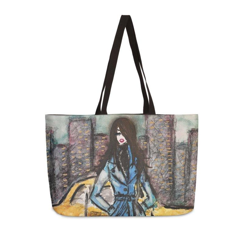 Big City Vibes Accessories Weekender Bag Bag by Deanna Kei's Artist Shop