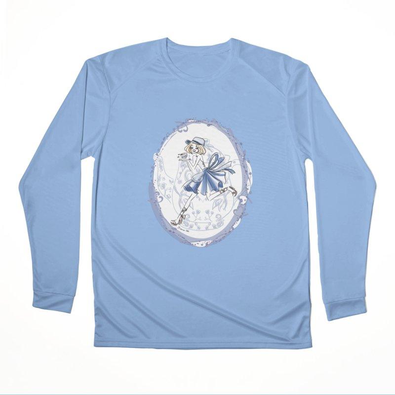 Springtime Tea Party Men's Longsleeve T-Shirt by Deanna Kei's Artist Shop
