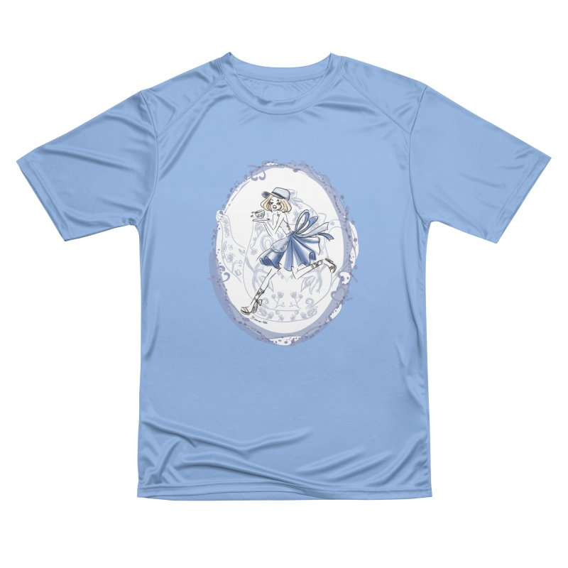 Springtime Tea Party Women's T-Shirt by Deanna Kei's Artist Shop