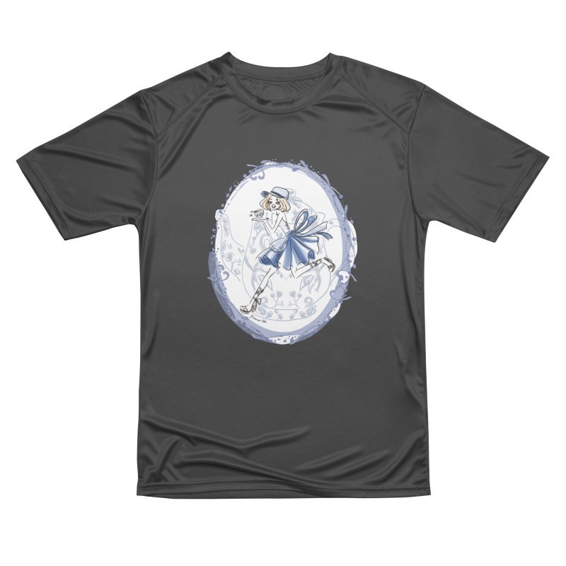 Springtime Tea Party Women's Performance Unisex T-Shirt by Deanna Kei's Artist Shop