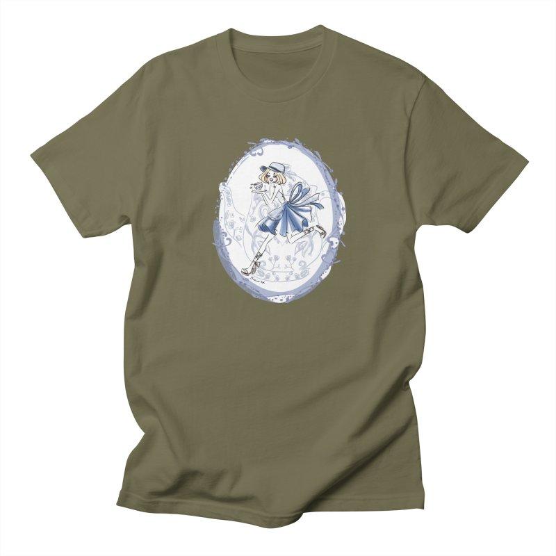 Springtime Tea Party Men's Regular T-Shirt by Deanna Kei's Artist Shop