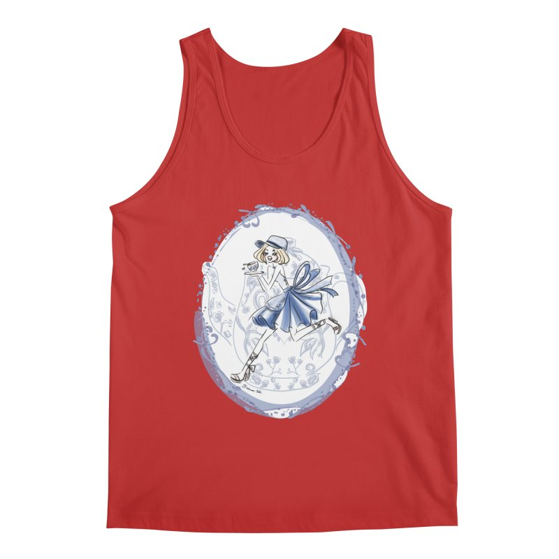 Springtime Tea Party Men's Regular Tank by Deanna Kei's Artist Shop