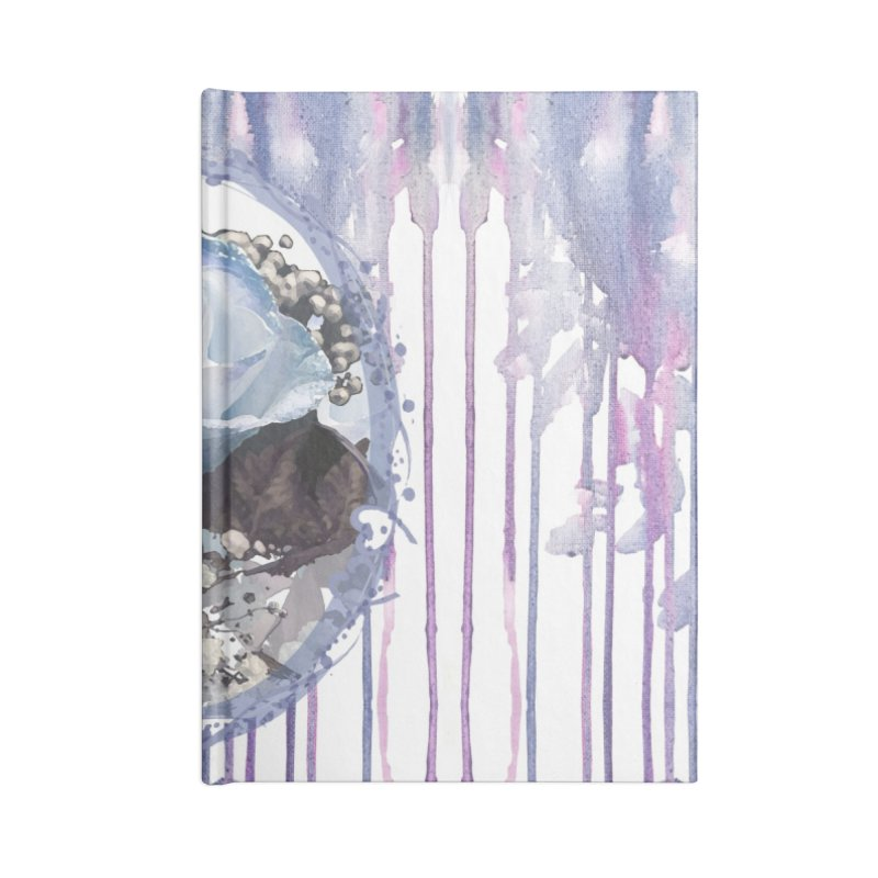 Blue Spring Rose Accessories Lined Journal Notebook by Deanna Kei's Artist Shop