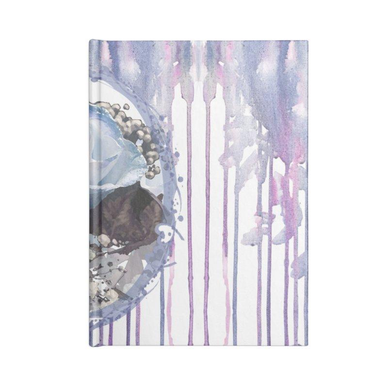 Blue Spring Rose Accessories Blank Journal Notebook by Deanna Kei's Artist Shop