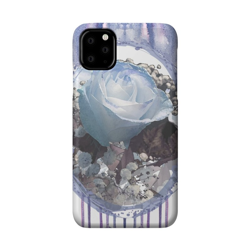 Blue Spring Rose Accessories Phone Case by Deanna Kei's Artist Shop