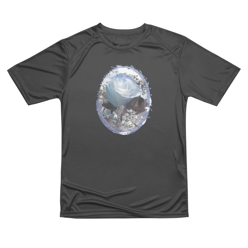Blue Spring Rose Men's Performance T-Shirt by Deanna Kei's Artist Shop