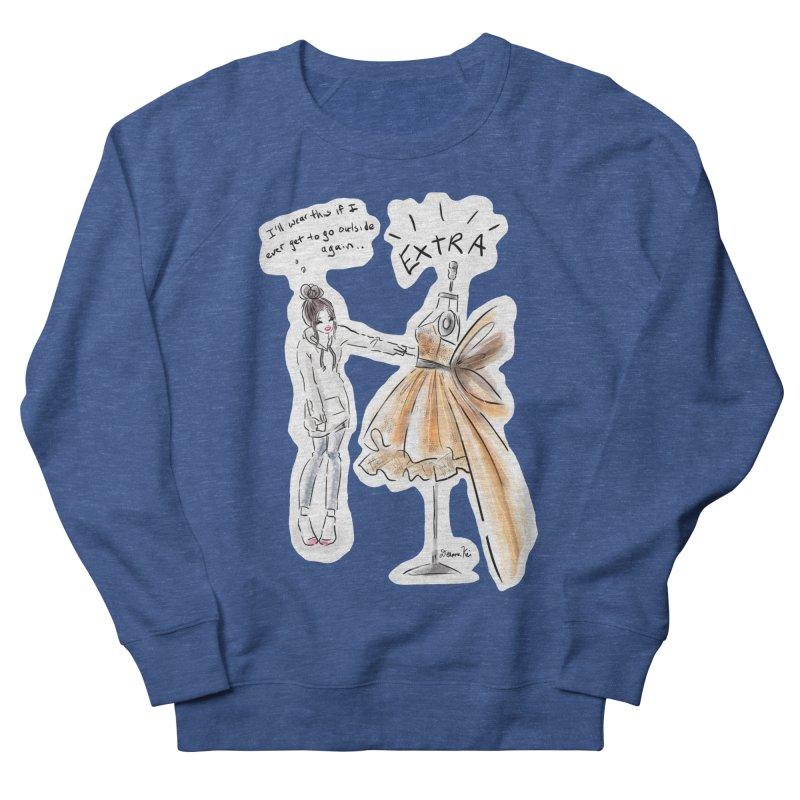 Quarantine Style Men's Sweatshirt by Deanna Kei's Artist Shop