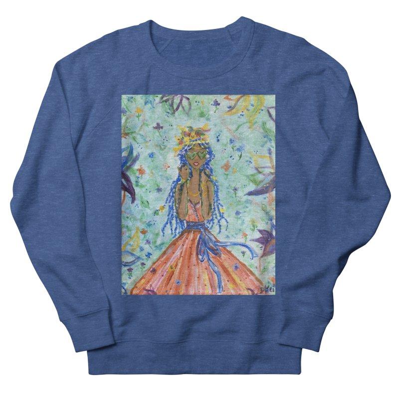 Blue Spring Girl - 1 Men's Sweatshirt by Deanna Kei's Artist Shop