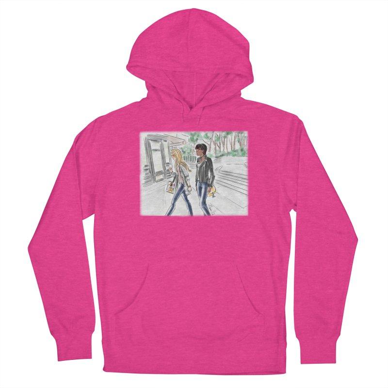 Bryant Park Girls Women's Pullover Hoody by Deanna Kei's Artist Shop