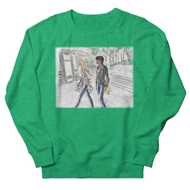 Bryant Park Girls Women's Sweatshirt by Deanna Kei's Artist Shop