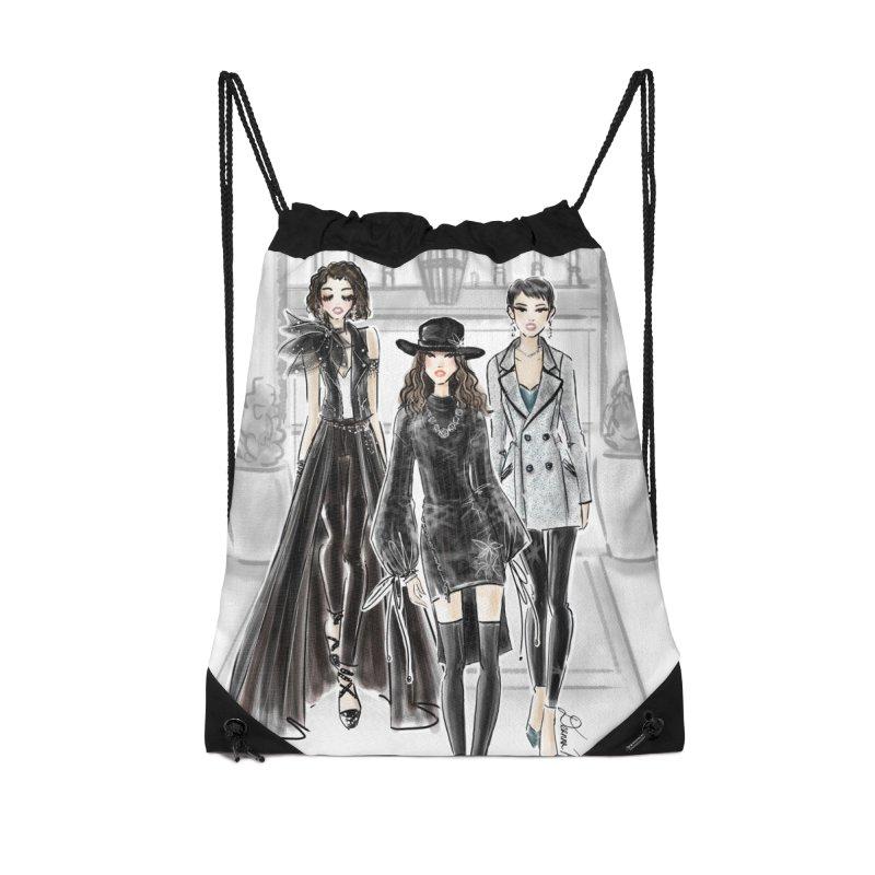 Cool Girl Crew Accessories Bag by Deanna Kei's Artist Shop