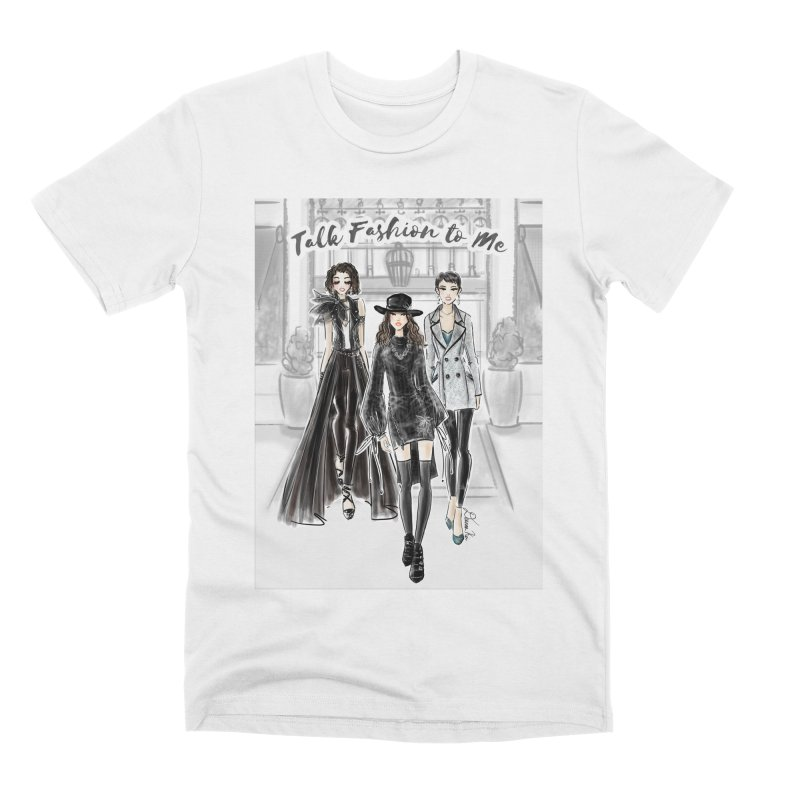 Cool Girl Crew Men's T-Shirt by Deanna Kei's Artist Shop