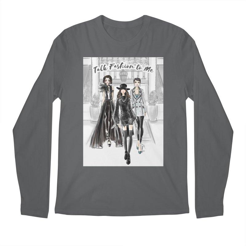 Cool Girl Crew Men's Longsleeve T-Shirt by Deanna Kei's Artist Shop