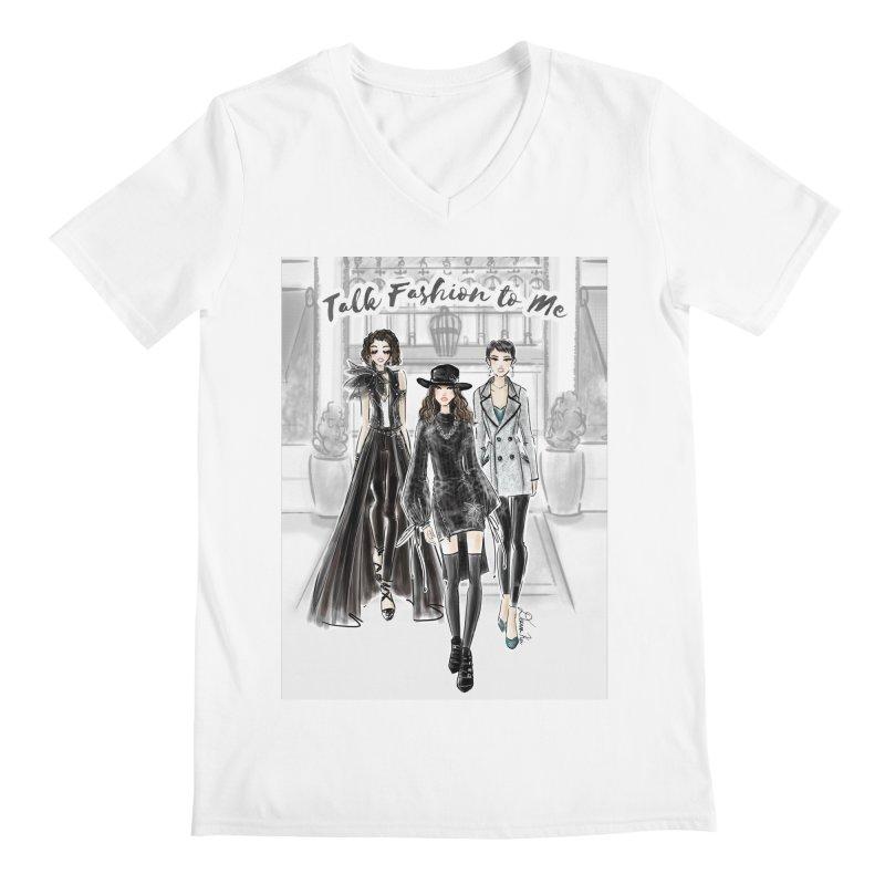 Cool Girl Crew Men's V-Neck by Deanna Kei's Artist Shop