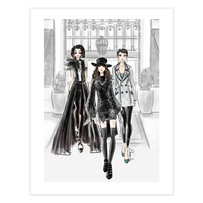 Cool Girl Crew Home Fine Art Print by Deanna Kei's Artist Shop