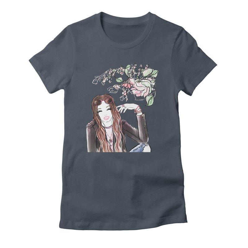 Jewelry Girl Women's T-Shirt by Deanna Kei's Artist Shop
