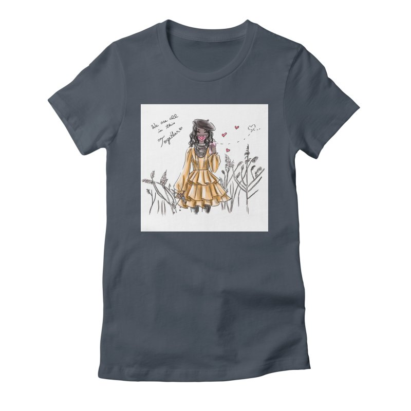 In This Together Women's T-Shirt by Deanna Kei's Artist Shop