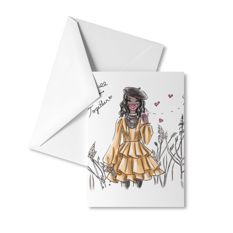 In This Together Accessories Greeting Card by Deanna Kei's Artist Shop