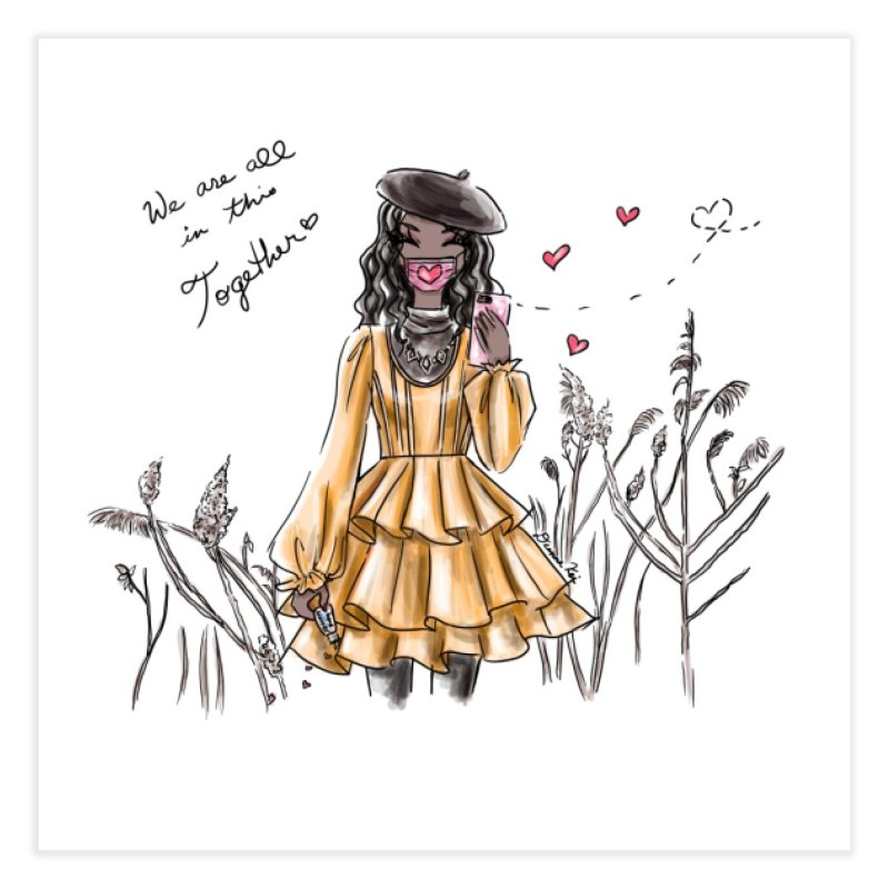In This Together Home Fine Art Print by Deanna Kei's Artist Shop