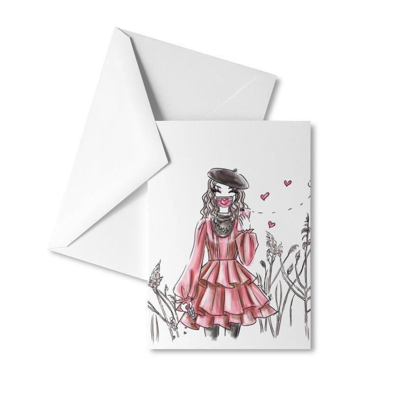 Spread Love Accessories Greeting Card by Deanna Kei's Artist Shop