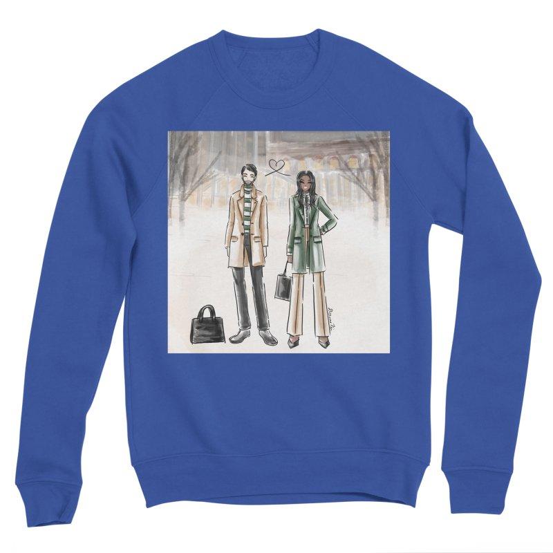 Winter Coordinate Couple Men's Sweatshirt by Deanna Kei's Artist Shop