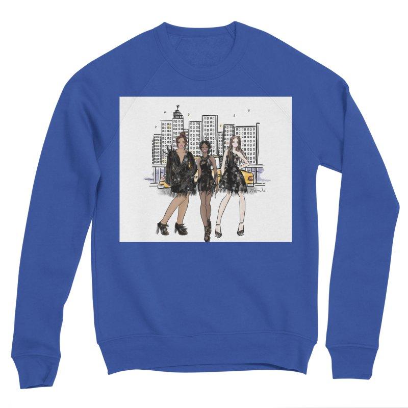 Ny Fashion Week Men's Sweatshirt by Deanna Kei's Artist Shop