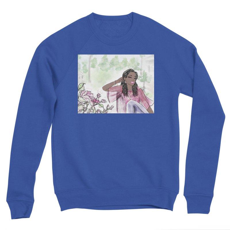 Listen to the Flowers Men's Sweatshirt by Deanna Kei's Artist Shop