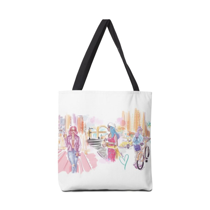 New York City Colors Accessories Bag by Deanna Kei's Artist Shop