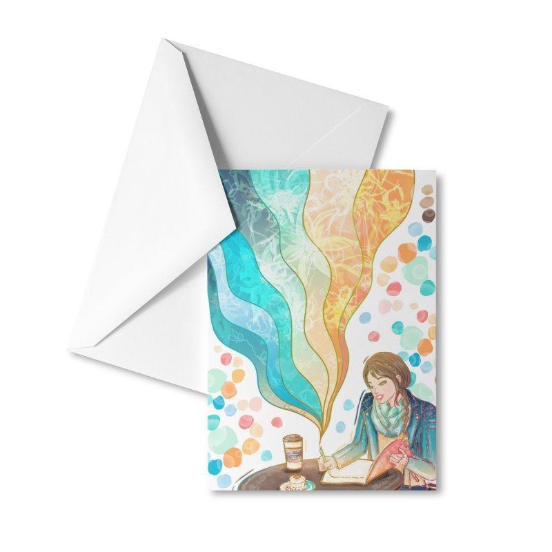 Dream It Accessories Greeting Card by Deanna Kei's Artist Shop