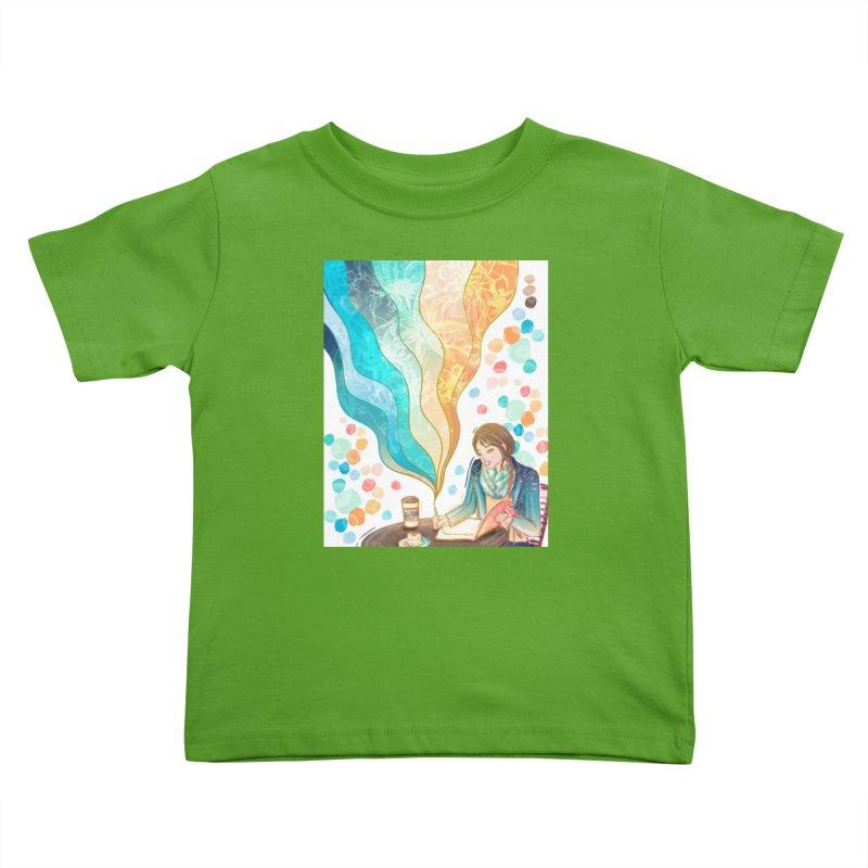 Dream It Kids Toddler T-Shirt by Deanna Kei's Artist Shop