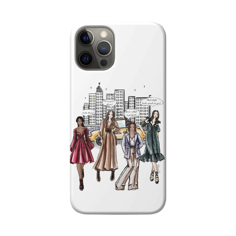 Shine Brighter Together Accessories Phone Case by Deanna Kei's Artist Shop