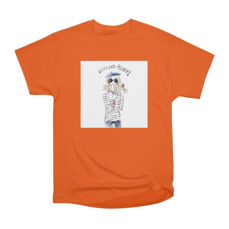 Weekend Ready Women's Heavyweight Unisex T-Shirt by deannakei's Artist Shop