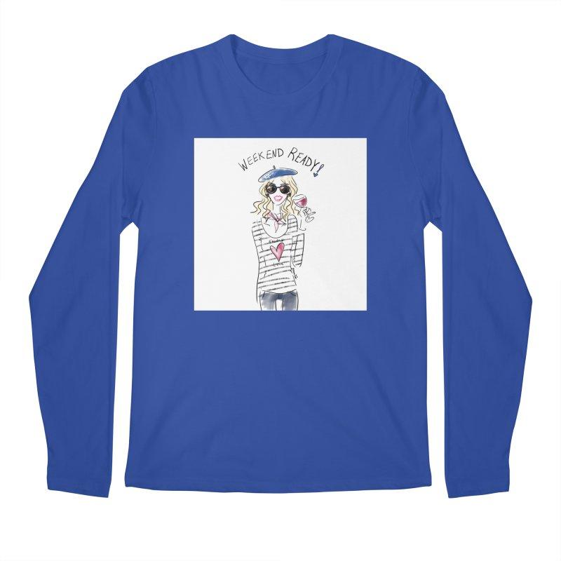 Weekend Ready Men's Regular Longsleeve T-Shirt by deannakei's Artist Shop