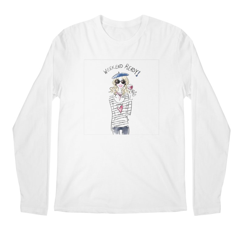 Weekend Ready Men's Regular Longsleeve T-Shirt by deannakei's Artist Shop