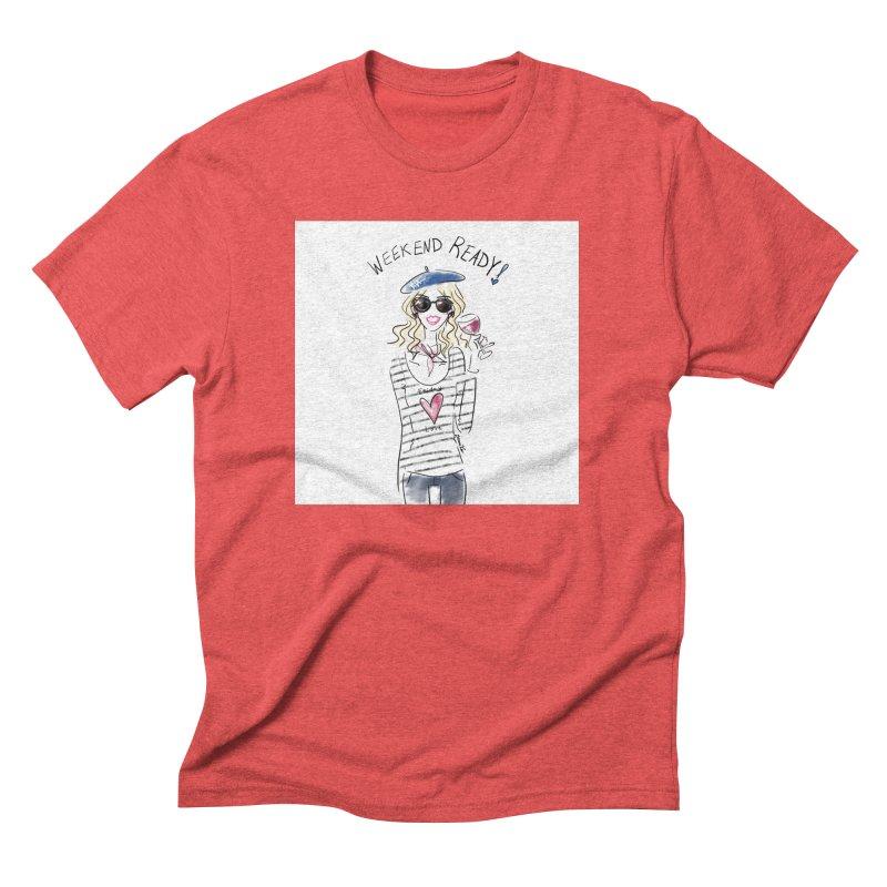 Weekend Ready Men's Triblend T-Shirt by deannakei's Artist Shop